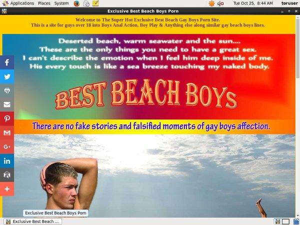 Best Beach Boys Pass Word