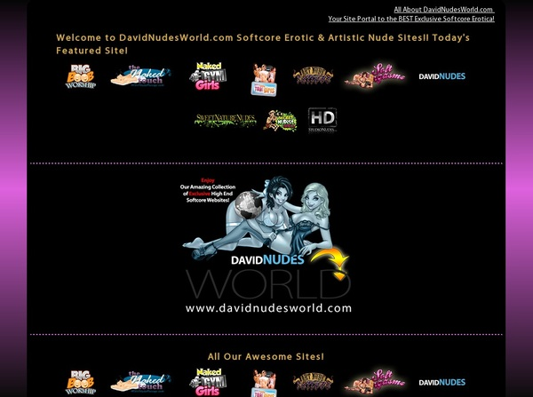 Davidnudesworld Billing Page