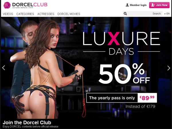 Dorcel Club Order Page
