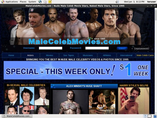Male Celeb Movies Sign