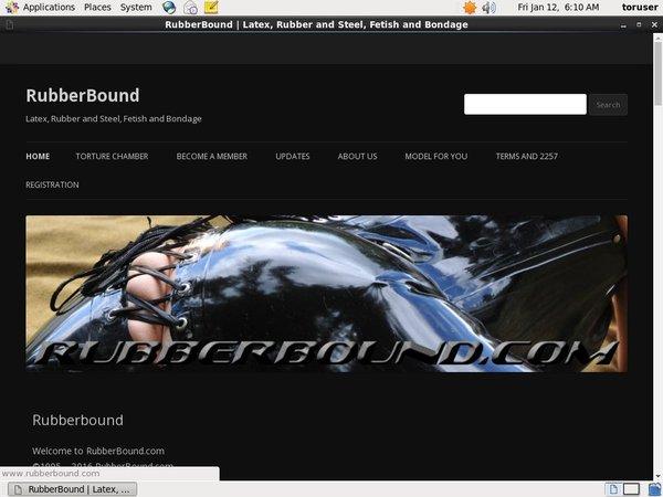 Rubber Bound Porn Video