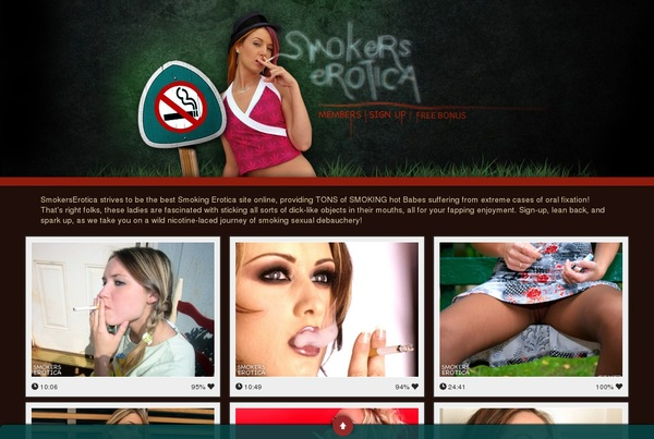 Smokerserotica.com Video