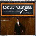 Sordid Auditions Free