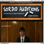 Sordid Auditions V2 암호