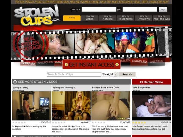 Stolenclips.com Website Accounts