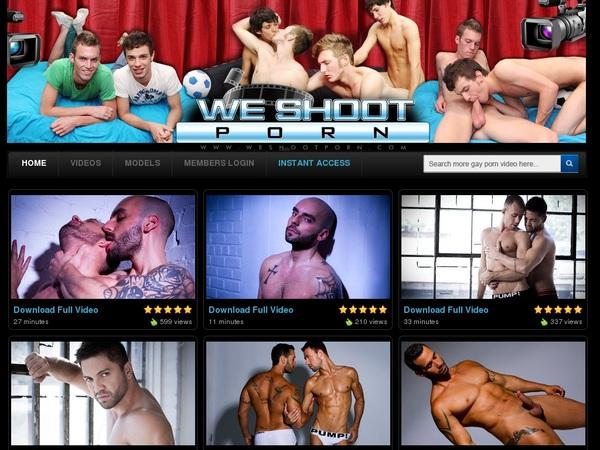 We Shoot Porn Working Password