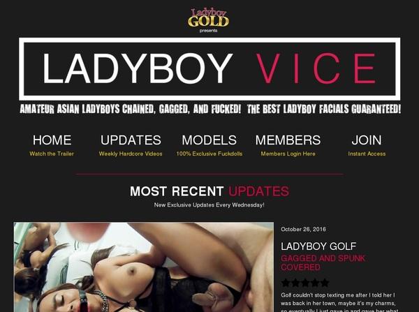 Ladyboy Vice Review