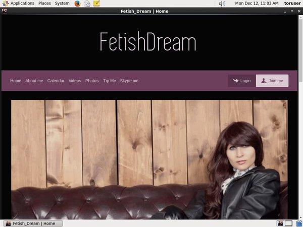 Accounts Free Fetish Dream