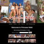 Princess Nikki Mobile Passwords