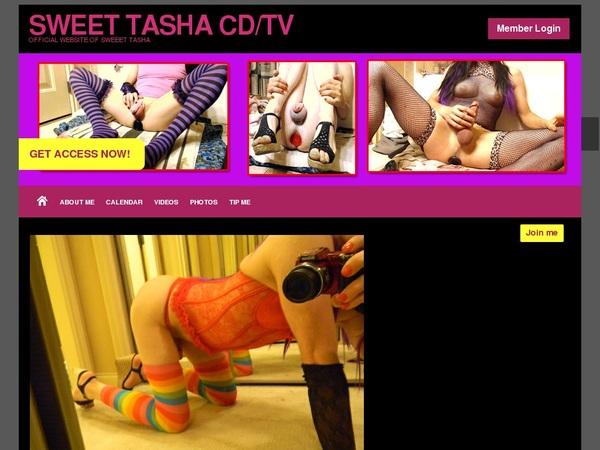 Sweet Tasha CD/TV Porn Passwords