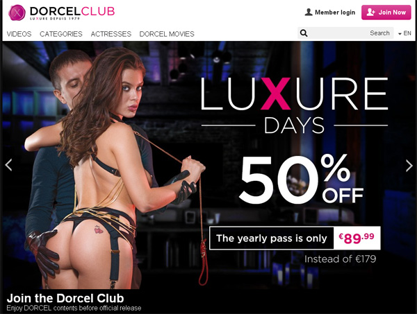 Dorcel Club Accounts Working