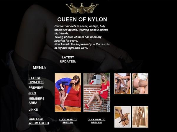 Queenofnylon Accounts Working