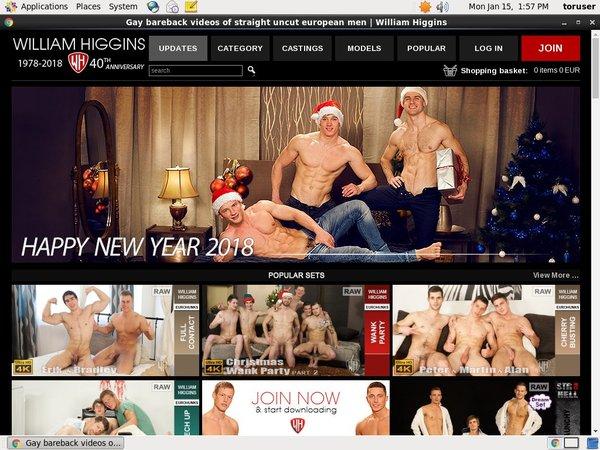 Williamhiggins Website Password