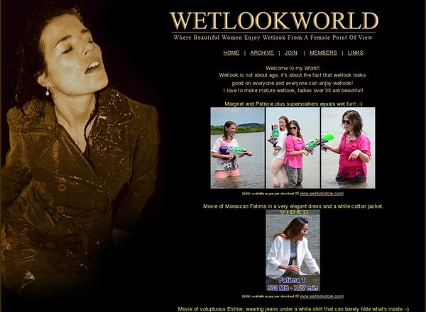 Free Wetlookworld.com Code