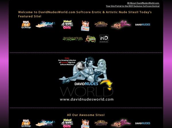 Premium Davidnudesworld Account