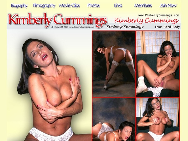 Kimberly Cummings Free Account