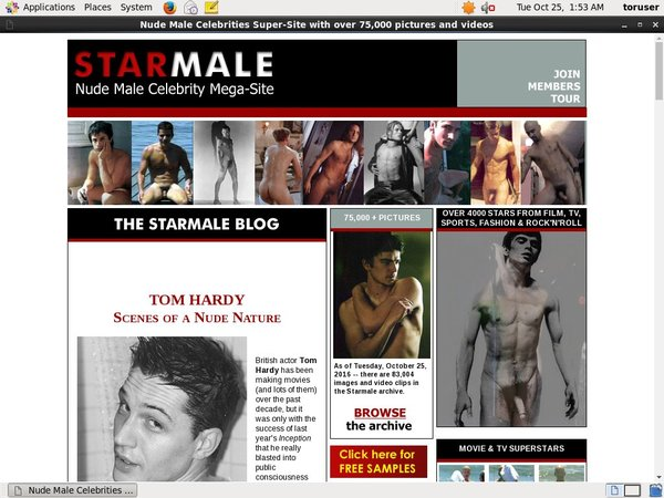 Starmale.com Pay With