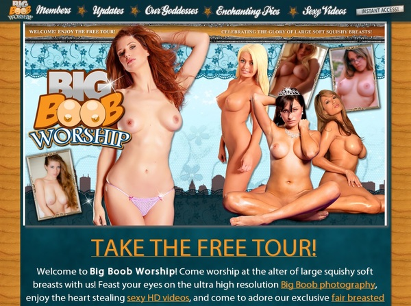 Bigboobworship.com Premium Accounts Free