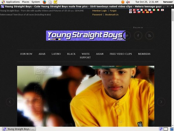 Young Straight Boys Access